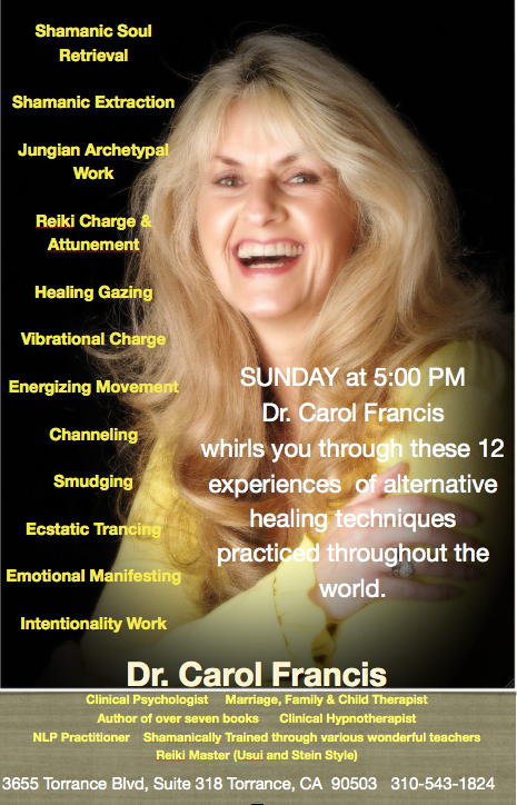 Dr. Carol Francis Explores Soul, Spirit, & Mindful Journeys